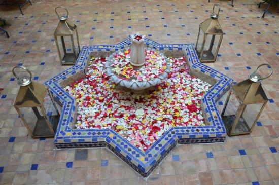 Riad Al Rimal: petit patio