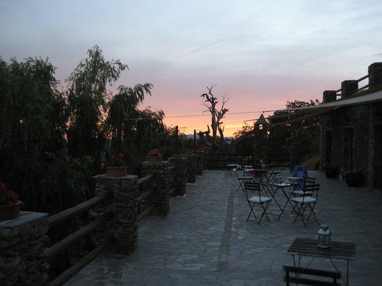 El Cielo de Canar: Sunset on the terrace