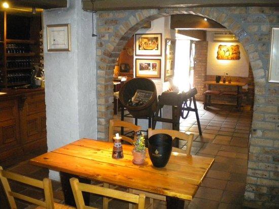 Inviting and cosy - step into Delheim Cellar