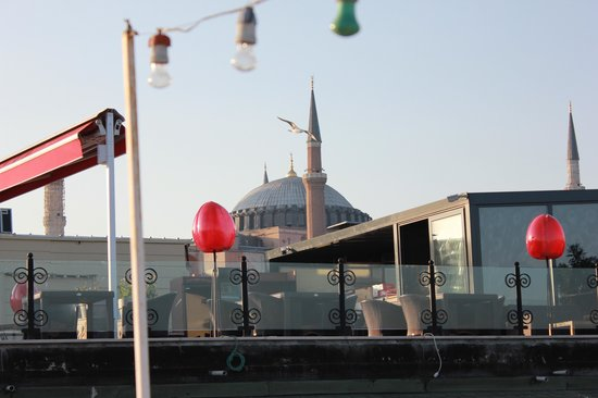 Poem Hotel Istanbul: View from roof-top terrace