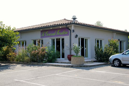Hotel Saint Louis : Restaurant Le Grand Jardin
