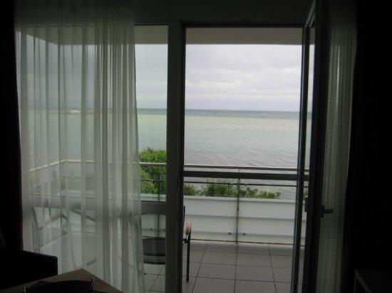 Gäestehaus Seeblick: Blick auf den See aus dem Zimmer