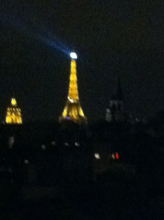 Holiday Inn Paris - Notre Dame: View from Terrace