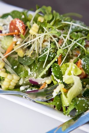 Burger Lounge : Truly healthy Veggie Salad