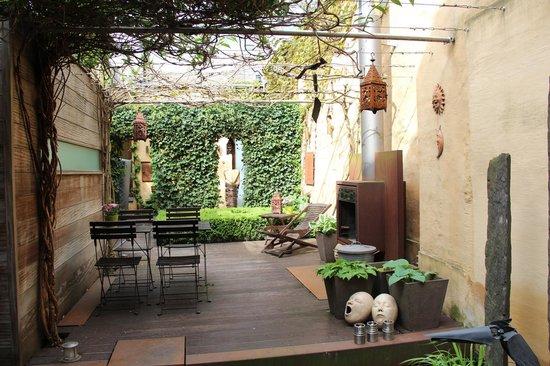 Chambreplus: Garten