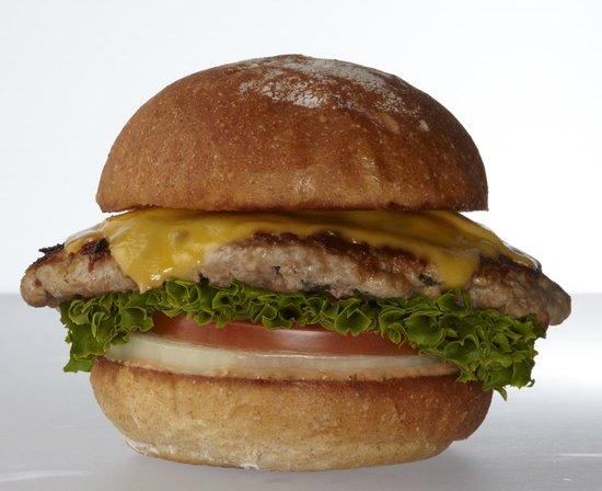 Burger Lounge: Free-Range Turkey Burger