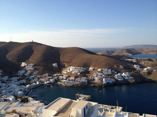 Astypalaia Hotel Palace : View from our balcony