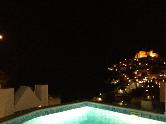 Astypalaia Hotel Palace : Evening view