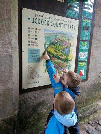 Mugdock Country Park: map