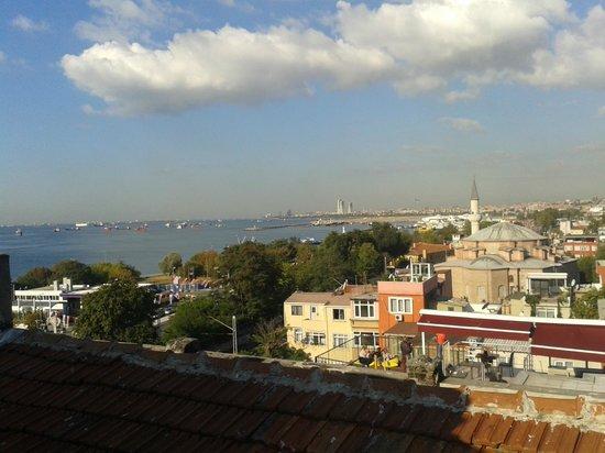 Deniz Houses Hotel: Вид с терассы