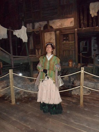 Dickens World: Our FANTASTIC guide Bonnie, who made it worth every penny.