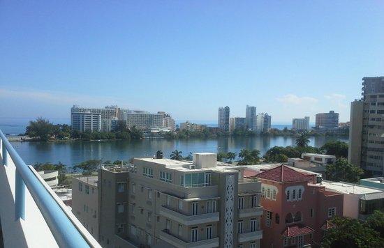 Hotel Miramar : View from Sun Deck