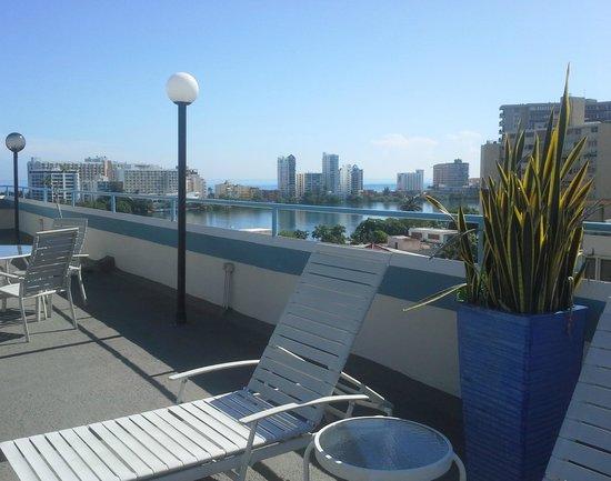 Hotel Miramar : Condado view from Miramar Hotel Deck