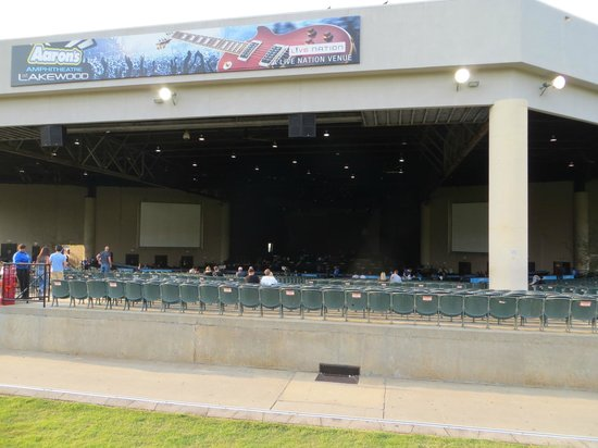 Aarons Amp Picture Of Aarons Amphitheatre At Lakewood Atlanta