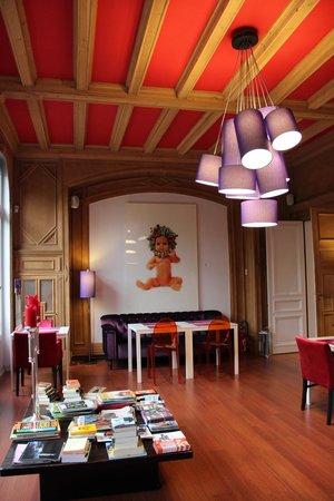 L'Esplanade Lille : Frühstücksraum
