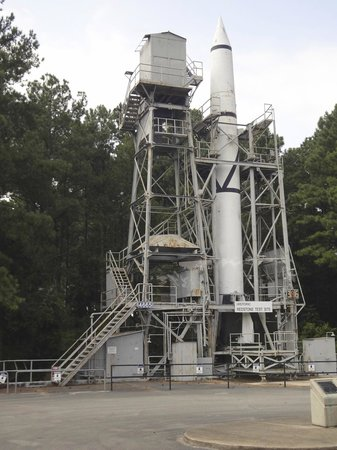 U.S. Space and Rocket Center: Redstone test site