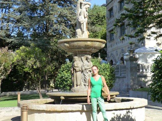 Pazo Los Escudos Hotel and Spa: Un pequeño trozo del jardin