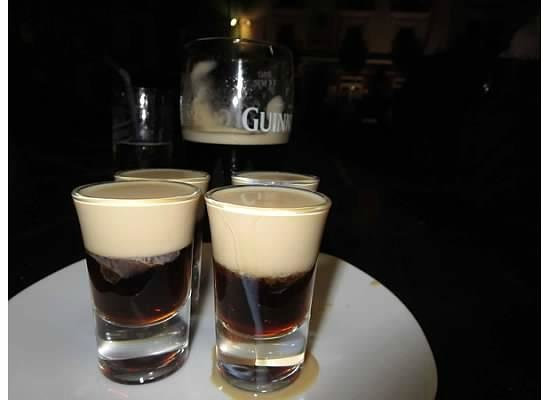Griffin's Bar : mini-Guinness