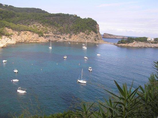 Hotel Ole Galeon Ibiza : VISTA CAMERA ,BAHIA DI SAN MIGUEL