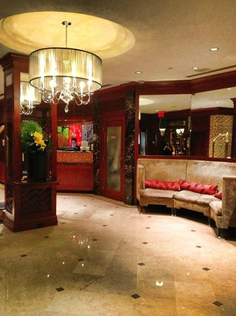 The Iroquois New York: Lobby