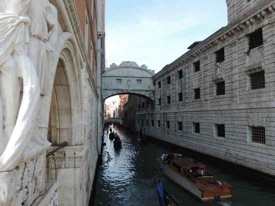 Ponte dei Sospiri: Puente de los suspiros