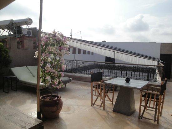 Riad Dar Massai: Terrasse