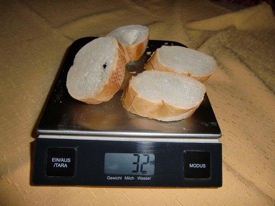 B&B Due Leoni: Brot für eine erwachsene Person zum Frühstück