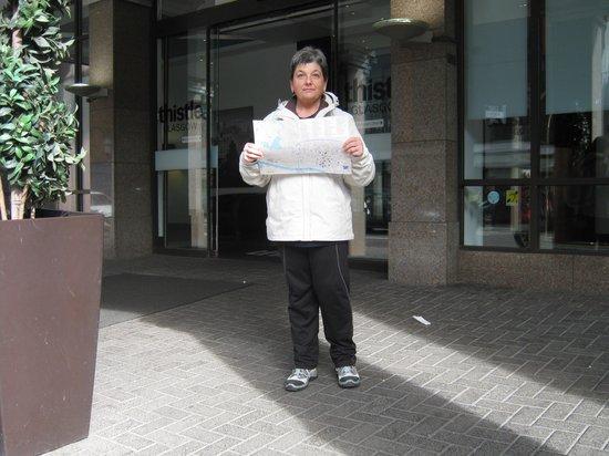 Doubletree by Hilton Hotel Glasgow Central: con la mappa in mano, e via......