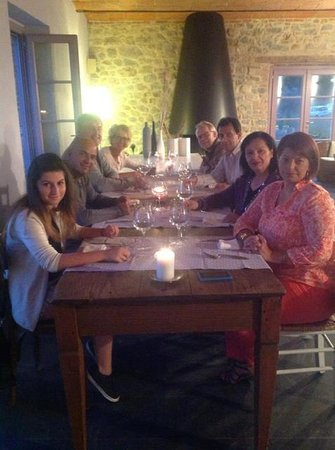 Podere le Olle: Dinner at Le Olle