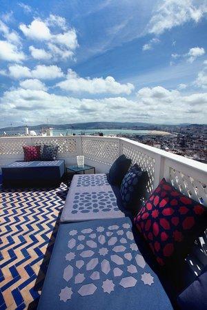Albarnous Maison d'Hotes: Terrasse