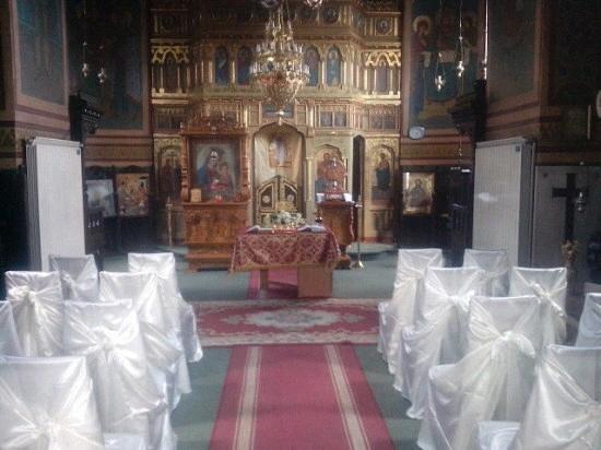 Eforie, Roemenië: Interior Biserică