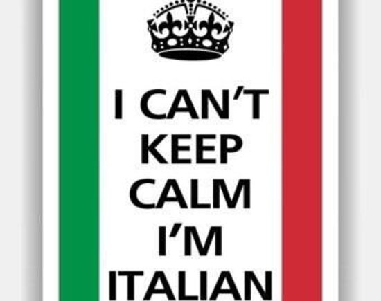Simply Italian: Can't keep calm