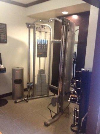Doubletree Hotel Atlanta/Alpharetta-Windward: exercise equipment