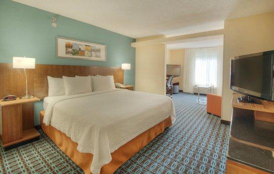 Fairfield Inn & Suites Raleigh Crabtree Valley: Executive king