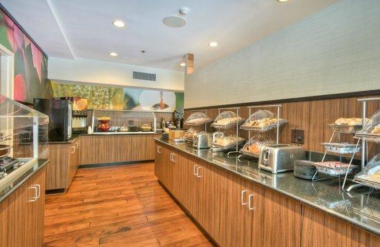Fairfield Inn Raleigh Crabtree: Breakfast