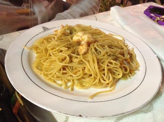 Pechino : Spaghetti ai frutti di mare