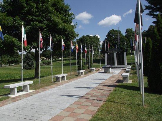 Park Like Picture Of Mount Hope Garden Cemetery Bangor