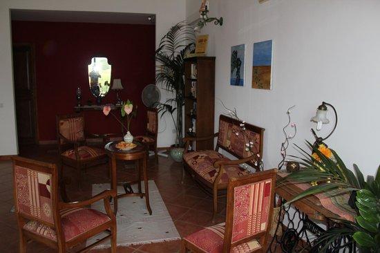 B&B Villa Maria Giovanna : salotto al primo piano