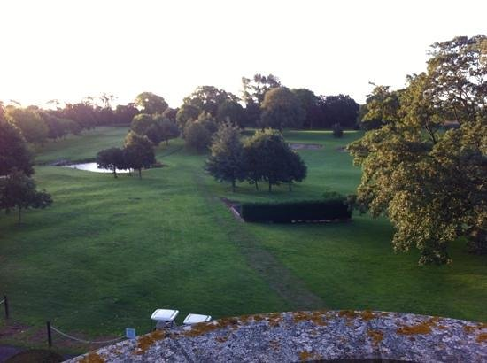 Hilton Puckrup Hall, Tewkesbury : view from our room