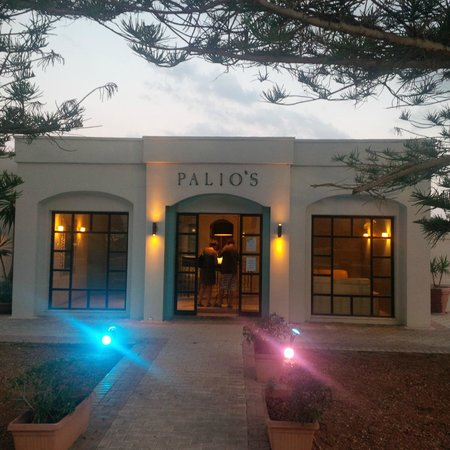 Palio's Restaurant at The Westin Dragonara Resort Malta: View from outside