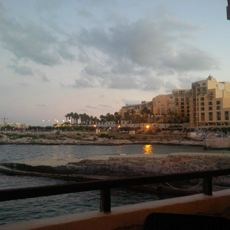 Palio's Restaurant at The Westin Dragonara Resort Malta: Amazing view