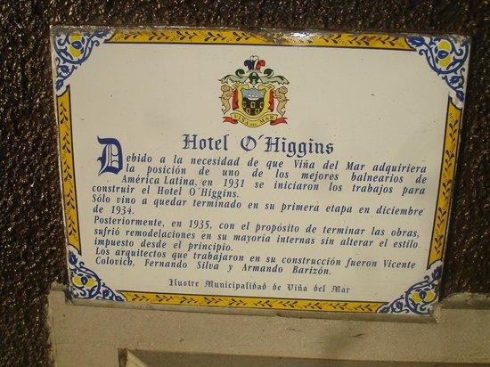 Hotel O'Higgins: Entrada