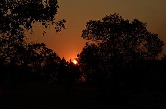 Pakamisa Private Game Reserve: Sonnenuntergang auf Pakamisa