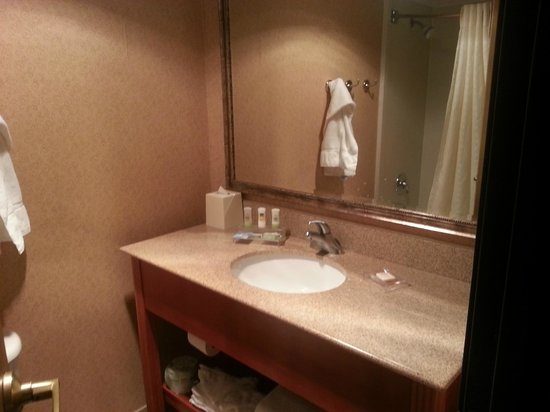 Country Inn & Suites By Carlson, Lincoln Airport: bathroom sink