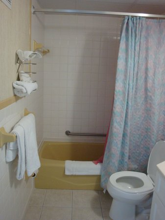 Aloha Oceanfront Motel : Bathroom
