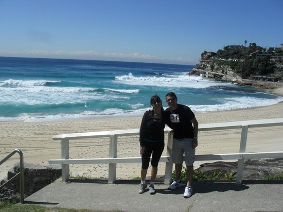 Sydney Coast Walks: Com a encosta ao fundo.