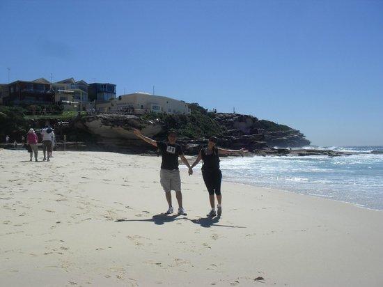 Sydney Coast Walks - Day Walks: Na linda praia.