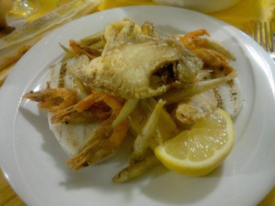 Hostaria Vecia : frittura di pesce