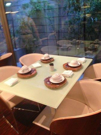Hotel Porto Trindade: Salle du petit déjeuner