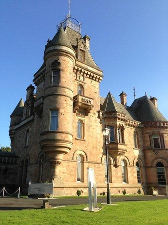 Cornhill Castle Hotel: the house